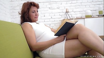 Ass licking,Big Ass,Brunette,Grannies,Hairy,Lesbian,Mature,MILF,Old and young,Stepmom