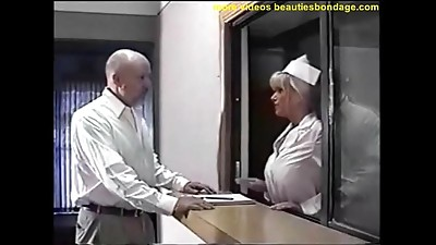 BDSM,Big Boobs,Blonde,Gagging,Nurse,Uniform
