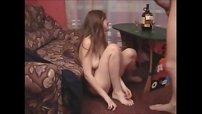 Drunk,Russian,Teen