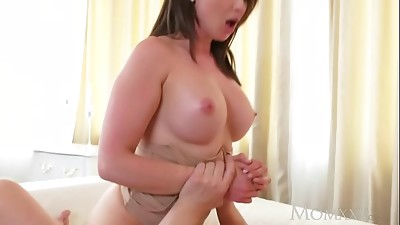 Big Boobs,Big Cock,Brunette,Mature,MILF,Orgasm,Squirting,Stepmom
