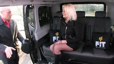 Babe,Blonde,Car Sex,Czech,Fucking,Teen