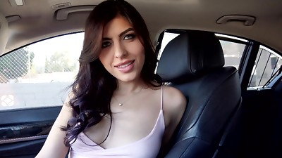 Babe,Big Boobs,Blowjob,Car Sex,Fingering,Masturbation,Natural,POV,Shaved,Teen