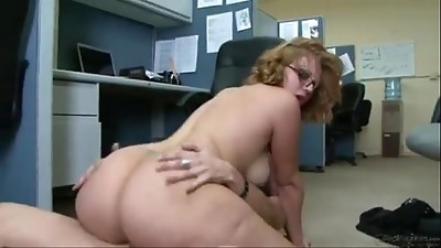 BBW,Beautiful,Chubby,Mature,MILF,Office,Stepmom