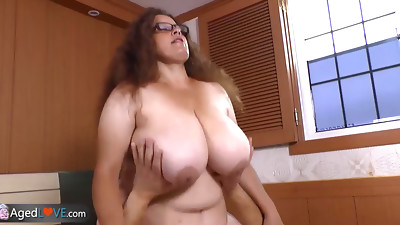 BBW,Big Boobs,Blowjob,Brunette,Chubby,Fucking,Grannies,Handjob,Masturbation,Mature
