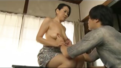 Asian,Hairy,Mature,MILF,Stepmom
