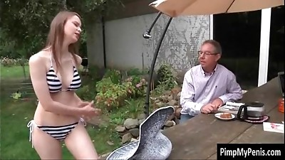 Big Boobs,Blonde,Blowjob,Daddy,Daughter,Fucking,Hairy,Mature,Orgasm,Outdoor