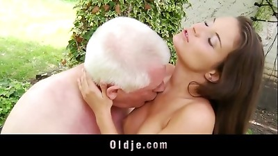 Blowjob,Cumshot,Fucking,Mature,Old and young,Teen