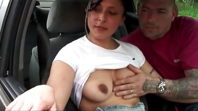 Anal,Blowjob,Brunette,Car Sex,Clit,Couple,Facial,Fucking,Gangbang,Group Sex