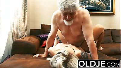 Blonde,Blowjob,Daddy,Fucking,Girlfriend,Grannies,Old and young,Russian,Teen