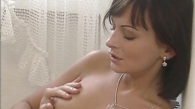 Anal,Brunette,Fucking,Homemade,Kitchen,Mature,Old and young