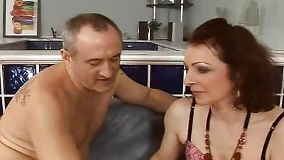 Anal,Ass licking,Blowjob,Couple,Fucking,Grannies,Hairy,Mature,MILF,Redhead