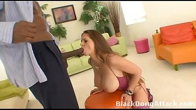 Big Boobs,Big Cock,Black and Ebony,Brunette,Cumshot,Fucking,Interracial,Lingerie,Petite,Stockings