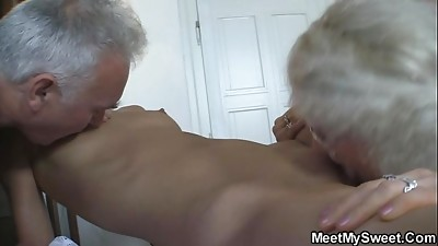 Cheating,Daddy,Fucking,Grannies,Mature,MILF,Old and young,Teen,Threesome