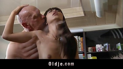 Asian,Blowjob,Brunette,Cumshot,Fucking,Mature,Old and young,Pornstar,Teen