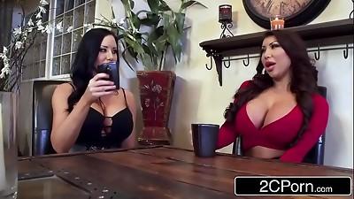 Asian,Beautiful,Big Boobs,Big Cock,Black and Ebony,Blowjob,Brunette,Double Penetration,Fake,Fucking
