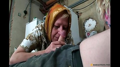Blonde,Blowjob,Couple,Cumshot,Fucking,Mature,MILF,Old and young,Teen,Threesome