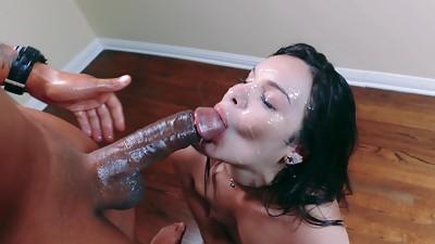 Big Cock,Black and Ebony,Cumshot,Double Penetration,Facial,Fucking,Group Sex,Interracial,Teen,Threesome