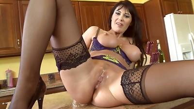 Big Boobs,Blowjob,Brunette,Fucking,Latina,Lingerie,Masturbation,MILF,Stockings