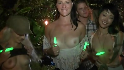 Amateur,Asian,Blowjob,Brunette,Girlfriend,Group Sex,Old and young,Outdoor,Party,POV