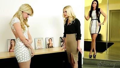 Black and Ebony,Blonde,Brunette,Lesbian,Mature,MILF,Petite,Secretary,Stepmom,Teen
