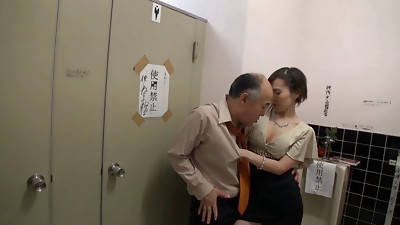 Asian,Babe,Bathroom,Blowjob,Old and young,Orgasm,Seduced,Softcore